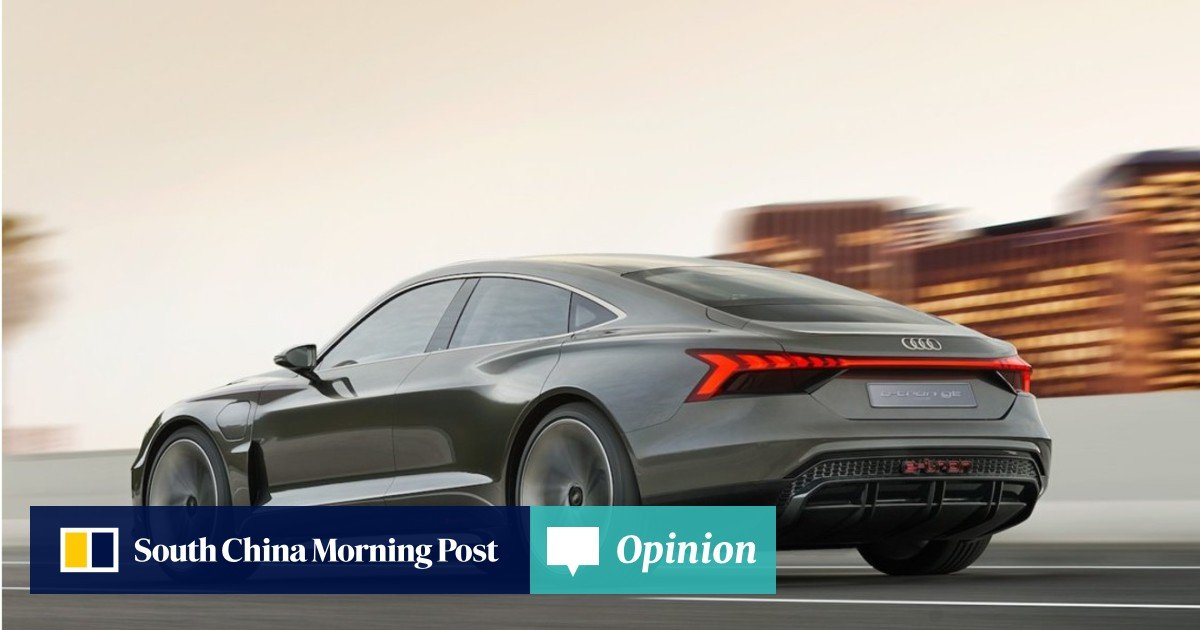 How will Audi's e-tron GT electric saloon measure up to Tesla's
