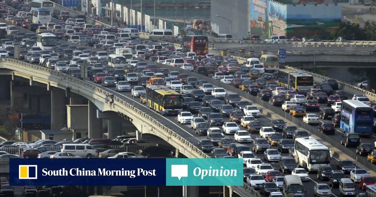 Mucky migration: China's Lunar New Year motorists leave behind a