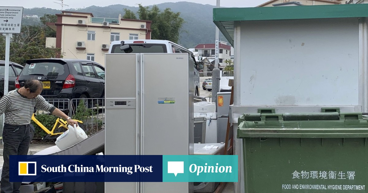 Clunky washing machines and fridges form bulk of Hong Kong's