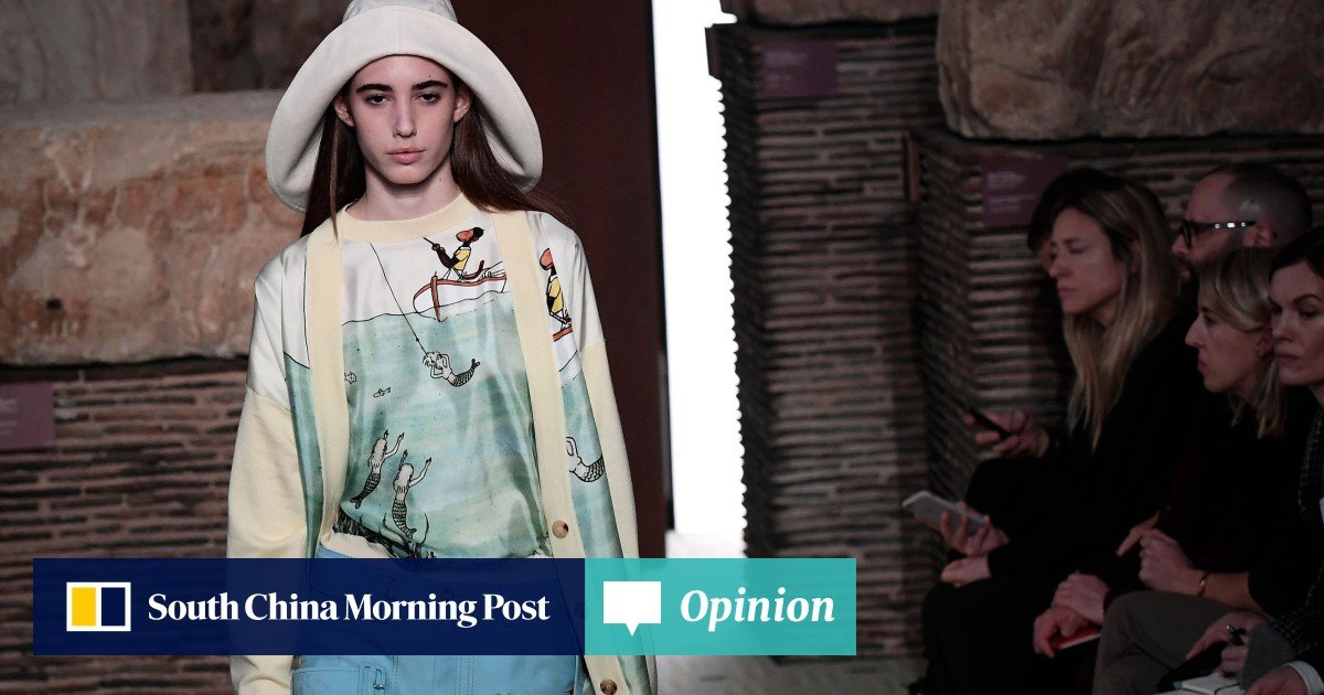 1035a1ae Paris Fashion Week: Bruno Sialelli lifts 'fading' Lanvin on his spectacular  debut | South China Morning Post