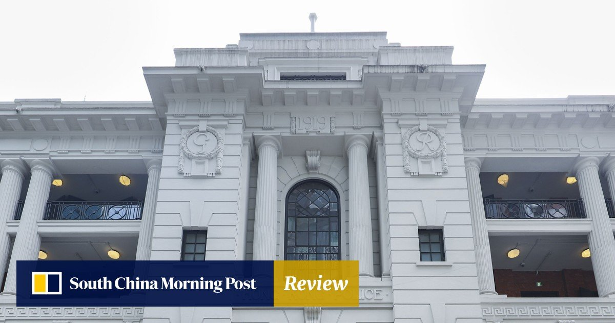 8c2181925f1 Why the secrecy surrounding first art show at historic Hong Kong police  station? | South China Morning Post