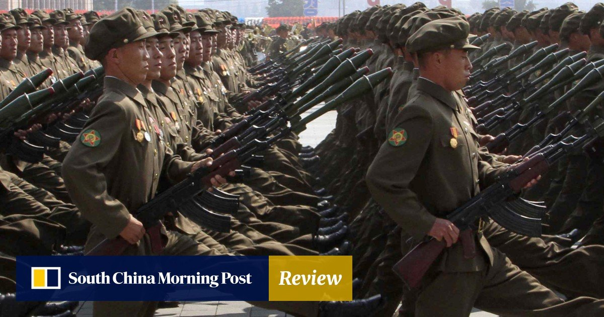 North Korean defectors recall their goose-stepping days in