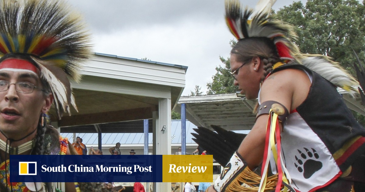 At a Native American pow-wow in Wisconsin – once oppressed