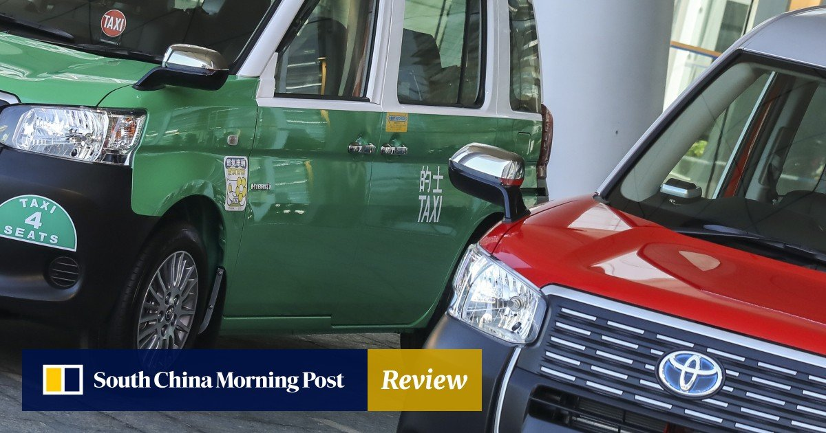 New green engines for Hong Kong's iconic red taxis could