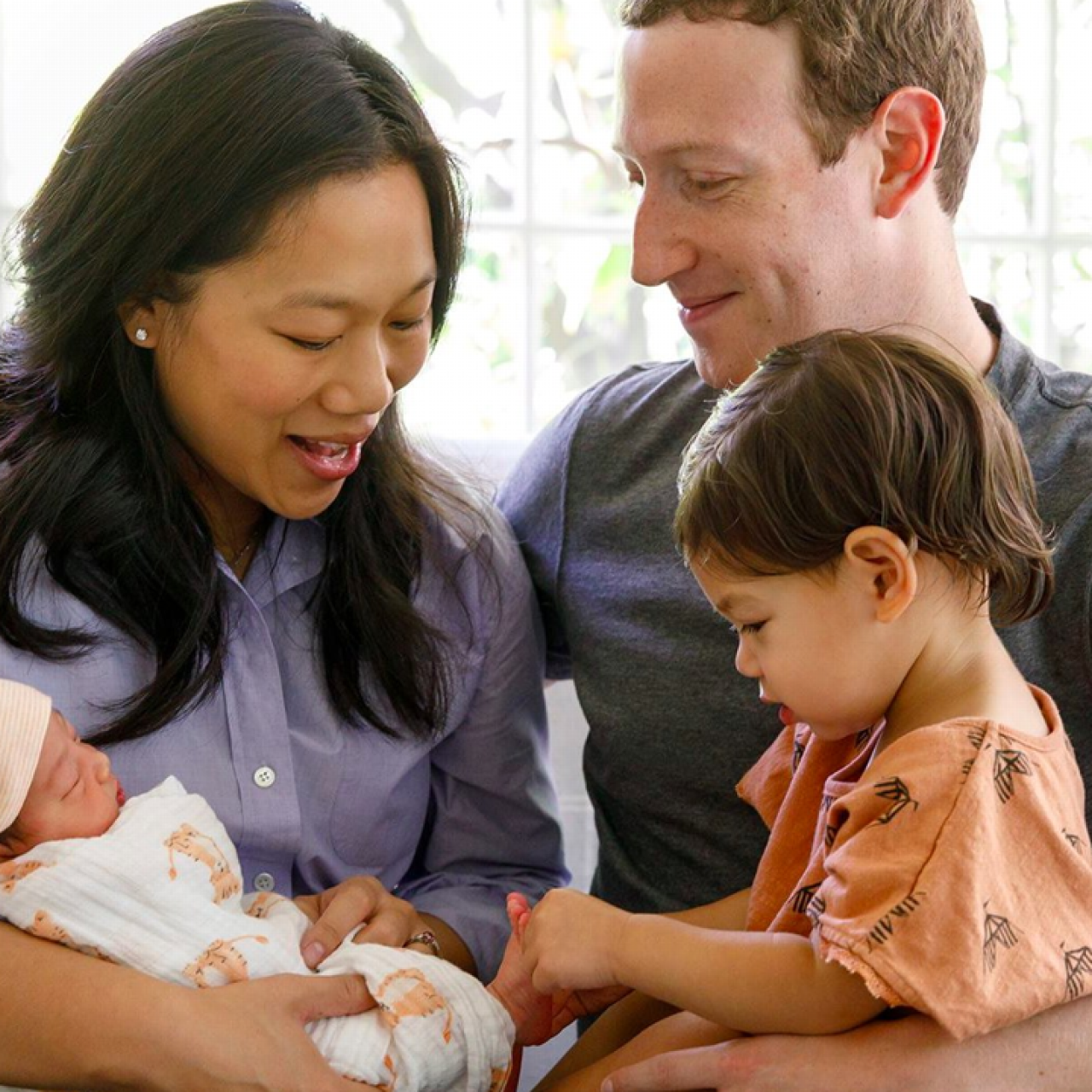 Mark Zuckerberg's second daughter is here and her name is