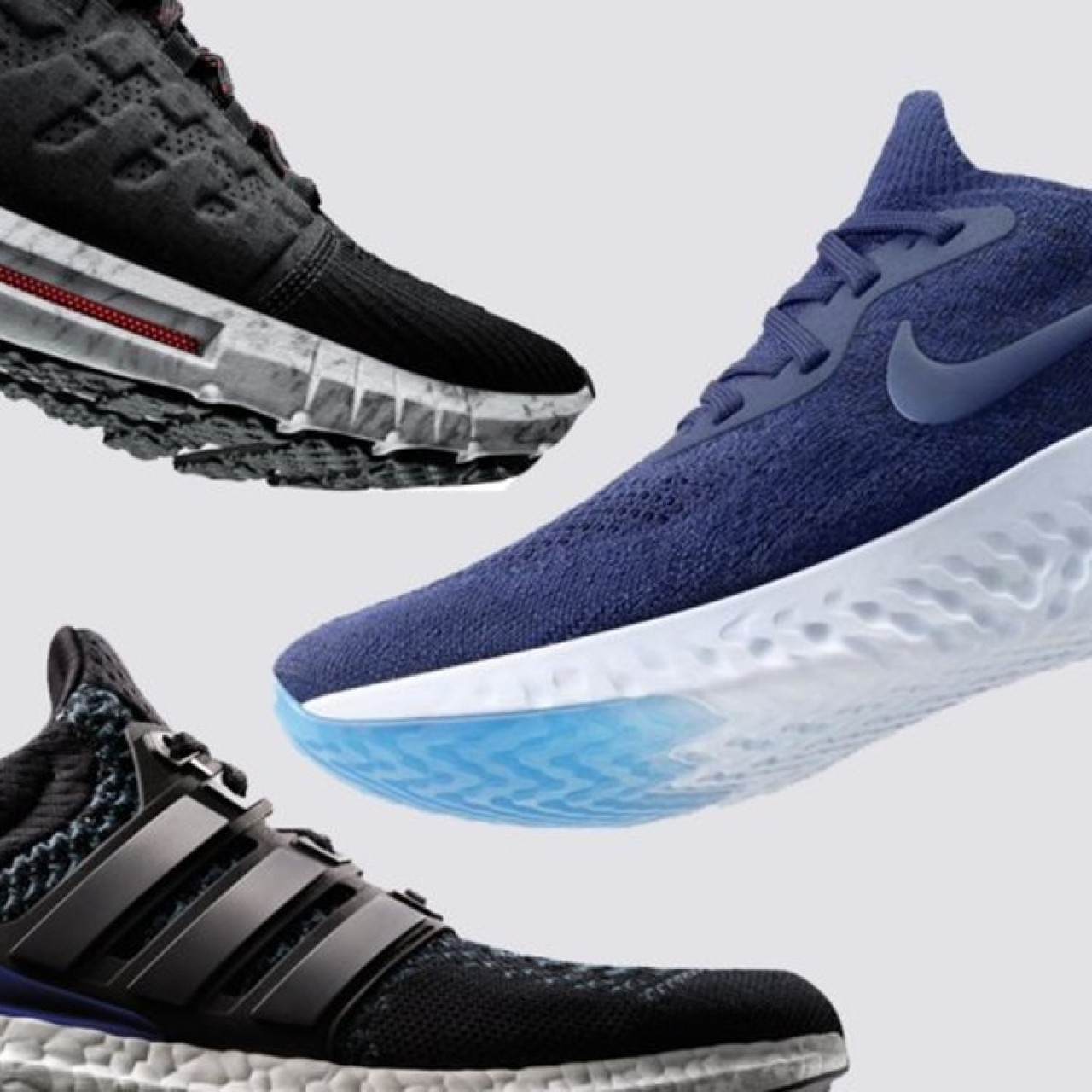 90b1ce40bb640 First Adidas, now Nike and Under Armour: foam soles are next 'big ...