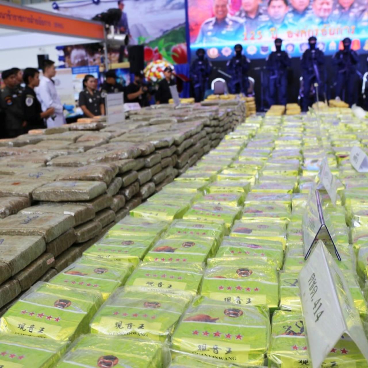 Thailand Seizes Us22 Million Worth Of Golden Triangle Meth