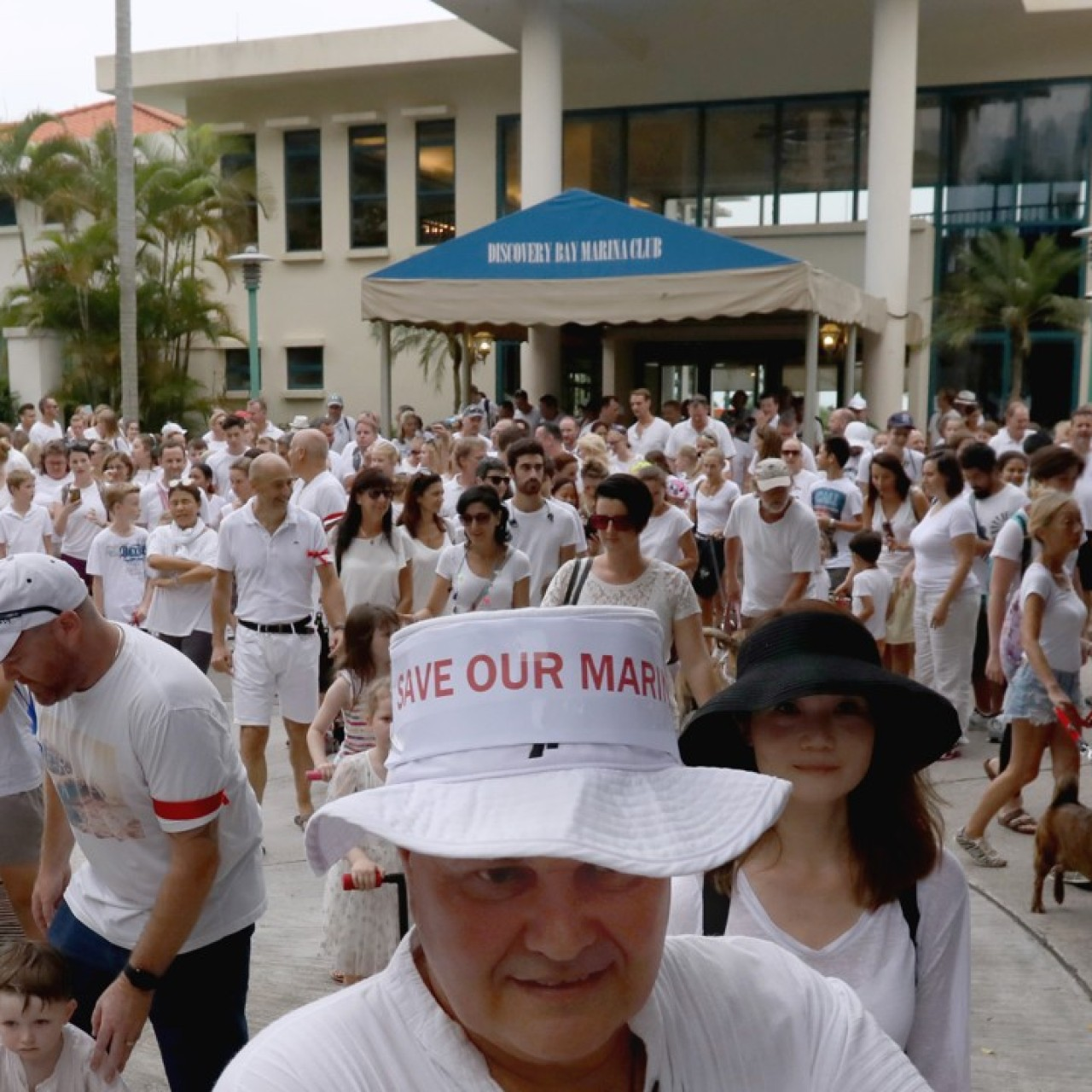 Discovery Bay boat owners in silent protest over marina's