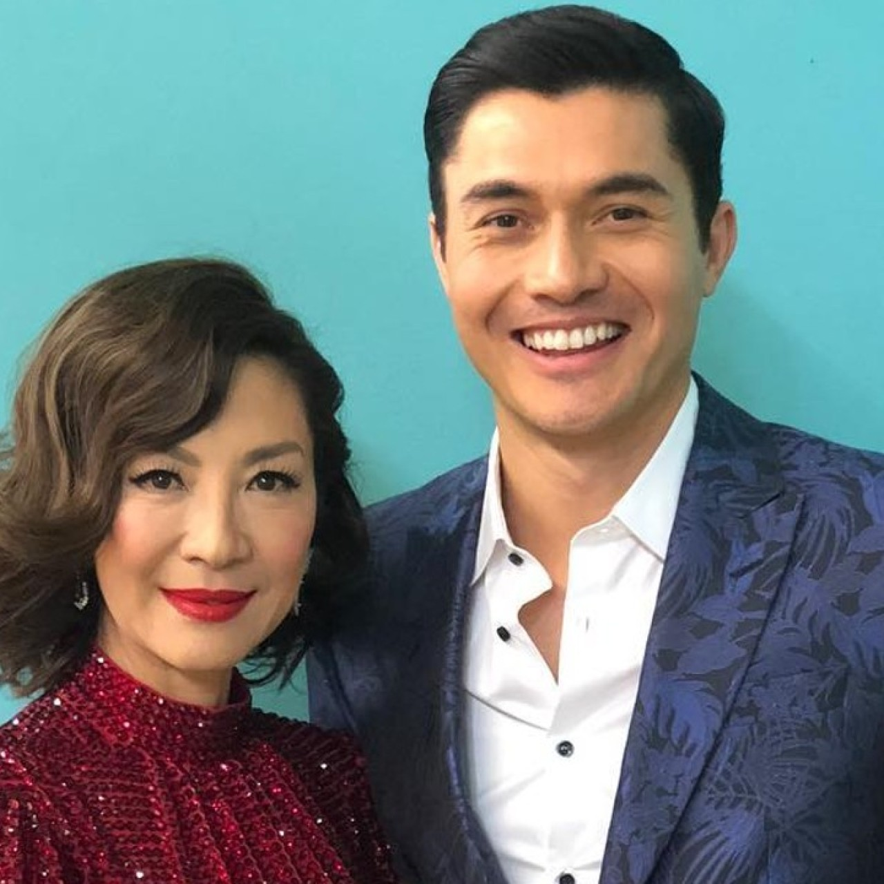 Crazy Rich Asians stars Michelle Yeoh and Henry Golding to reunite