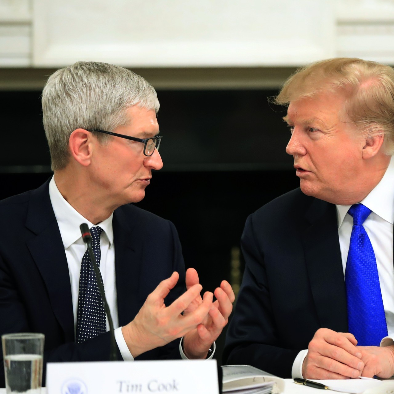 Apple's CEO embraces Donald Trump's name gaffe, is now 'Tim