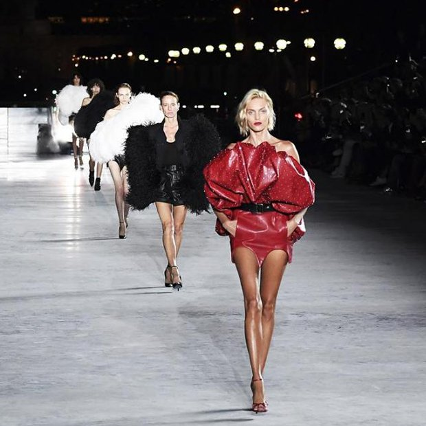 cc989786bb Saint Laurent makes a splash at Paris Fashion Week | South China Morning  Post